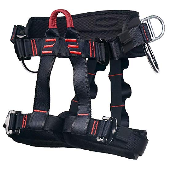 Full Body Rock Climbing Harness for Kids Aoneky Safety Harness Fall Arrest